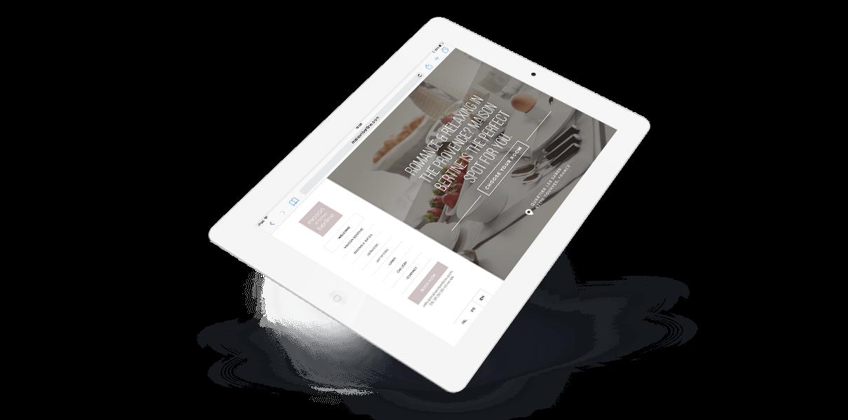 Responsive Webdesign Maison Bertine - Webdesign Weblounge Brugge