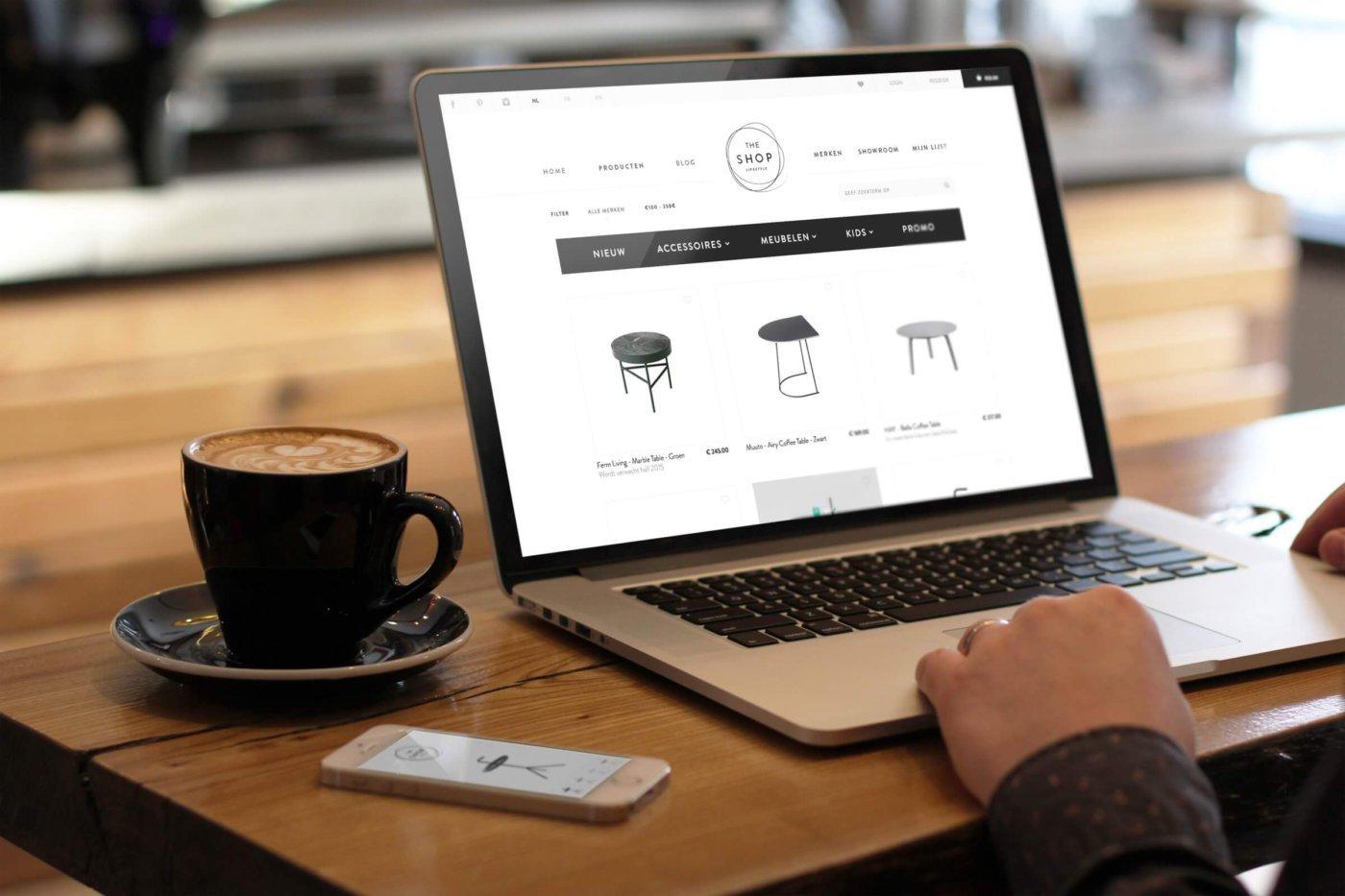 The shop online